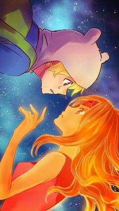 Fim e princesas de fogo