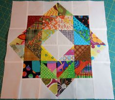 expanded scrappy depression block 1/16 by flickrdeb50, via Flickr