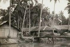 Dorp op weg naar Tangerang 1915
