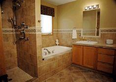 Bathroom Tile Design Ideas Floor Small Master