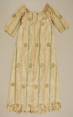 Early 19th century, American, Silk