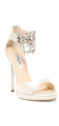 Glitzy Genstone Heels ❤︎ L.O.V.E. #wedding #shoes #inspiration