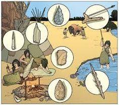 Resultado de imagen para prehistoria herramientas