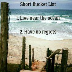 Live near the ocean