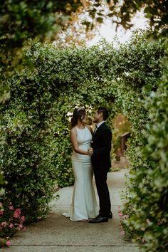 Carrissa + Brian celebrated their wedding in a beautiful garden located in San Diego, CA. Outdoor Wedding Photography, Couple Photography, Photo Boards, Destination Weddings, Beautiful Gardens, San Diego, Wedding Hairstyles, Groom, Wedding Day