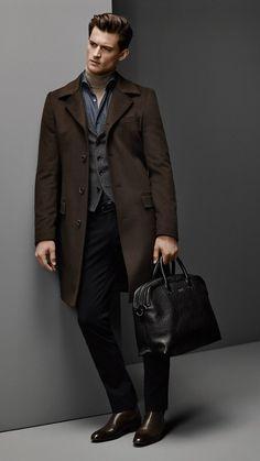 Boss Menswear Fall/Winter 2014