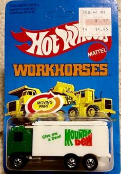 Hot Wheels Workhorses Mountain Dew Truck