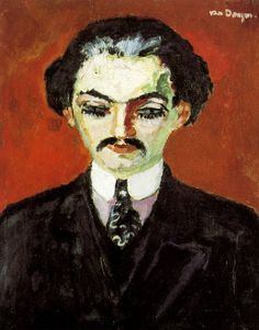 1907 Portrait de Kahnweiler by Kees van Dongen (Dutch, 1877-1968)