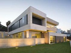 Cubic Blocks House in Galicia by A-cero Architects