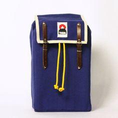 YKRA — INDIGO BLUE MATRA MINI with cotton strap