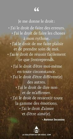 citation Positive Attitude, Positive Vibes, Positive Quotes, Quotes To Live By, Life Quotes, French Quotes, Positive Affirmations, Beautiful Words, Feel Good