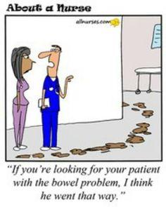 Hahaha nurse humor!