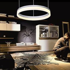 LED Pendant Lights , Modern/Contemporary Living Room/Bedroom/Dining Room/Study Room/Office/Kids Room/Hallway Metal – AUD $ 228.79