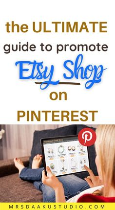 If you are not marketing your Etsy store on Pinterest and using it to drive more traffic to Etsy store, you are seriously losing out on sales and quality traffic. Learn how to promote your Etsy shop on Pinterest right away and make money online. Make Money From Home, Way To Make Money, Earn Money Online Fast, Legitimate Work From Home, Craft Shop, Online Jobs, Extra Money, Etsy Store, Online Business