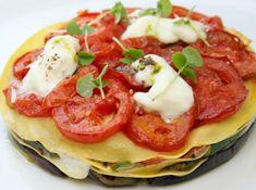 (Best lasagna I've ever had.) Meatless Monday: Vegetable Lasagna From Fig & Olive #vegetarian.