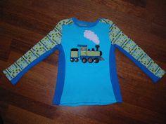 Train shirt (size 128)