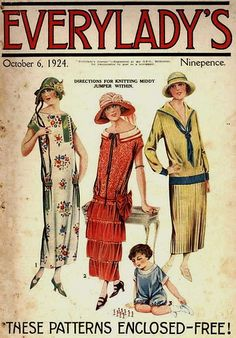 1924 - reminds me of Downton Abbey
