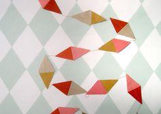 Kite paper garlands