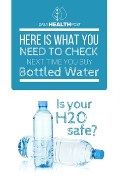 If you_ve ever turned your bottled water upside-down, you may have noticed letters and numbers near the recycling symbol that indicate what kind of plastic they_re made of.