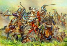 Mongols attack Rus