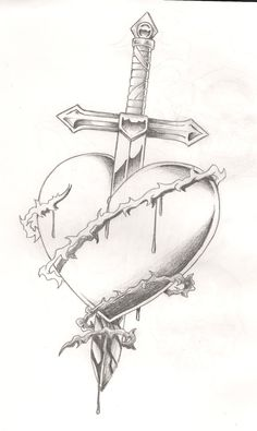 Image detail for -Sword in heart tattoo by ~Mr-P-P-Hed on deviantART