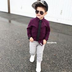 Check this out! Toddler Swag, Toddler Boy Fashion, Stylish Baby Boy, Cute Baby Boy, Cute Kids Pics, Cute Outfits For Kids, Baby Boy Dress, Baby Boy Outfits, Designer Kids Clothes