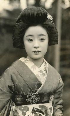 1930年頃 舞妓