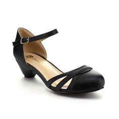 61c413d160c BE INTOUCH GABBY-1 Women s Ankle-strap Kitten Heel Sandals