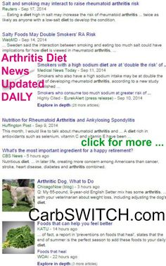 ♥ Arthritis diet osteoarthritis diet cure treatment symptoms recipes ♥ targeted low carb no carb Recipes, Infographics & DAILY nutritional science news #carbswitch carbswitch.com Please Repin ►♥◄ Health News: Diets Food Updated DAILY - Diets for Women: Best Diet Plan Best Diet Foods