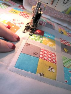 How to Bind a Quilt, excellent tutorial