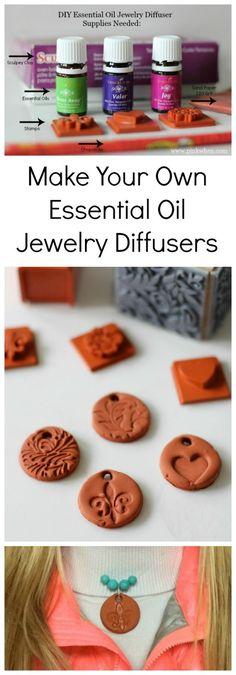DIY Essential Oil Diffuser Jewelry