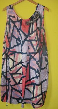 New Simply Vera Vera Wang Sleeveless Floral Dress Fron Kohl's Size XL   eBay