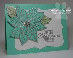 Joyful Christmas stamp set from Stampin' Up!