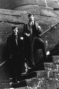 Ringo and Paul in early 1963 <3