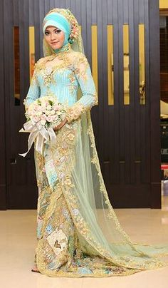 1000 Images About Muslim Wedding Dress On Pinterest