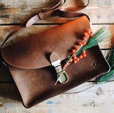 616e5392e4bbd Zoey Umhängetasche Handtasche Ledertasche Damen Vintage Braun Leder
