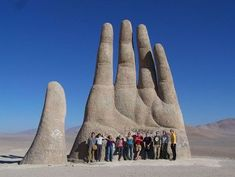 今まで日本人が作らなかったのが不思議な「大きな手」のモニュメント! : 'ぬるい'雑感記