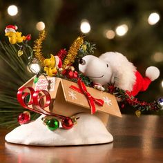 possible dreams peanuts one bird open sleigh christmas decoration - Snoopy Outdoor Christmas Decorations