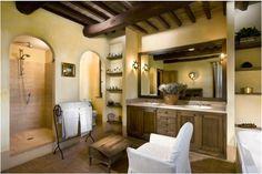 Tuscan Bathroom Designs