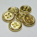 Product Code: M-1215 - Plated Gold Availability: In Stock Price: $5.25  #Shirt #Blouse #Pant #Buttons