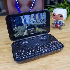 GPD Win: one of the best geek gadget! . . . #gpd #win #gaming #game #videogames #games #console #nerd #geek #gta #gtav #grandtheftauto5 #computer #pc #indiegogo #crowndfunding #gadget #tech #techie #techy