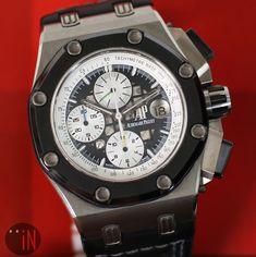 Audemars Piguet Gold, Audemars Piguet Watches, Royal Oak Offshore, Old Watches, Chronograph, Waiting, Old Things, Ceramics, Green