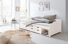 Home affaire Stauraum-Bett »Nils«, mit 5 Schubladen und einem Fach, Liegefläche: 90/200 cm Jetzt bestellen unter: https://moebel.ladendirekt.de/schlafzimmer/betten/massivholzbetten/?uid=13893aa0-3d09-5f17-bb1c-4469d6f4a771&utm_source=pinterest&utm_medium=pin&utm_campaign=boards #stauraumbetten #betten #schlafzimmer #massivholzbetten