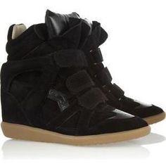 Isabel Marant Bekket Wedge Sneakers as seen on Irina Shayk
