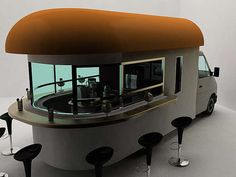 Coffeehouses on Wheels: Daniel Milchtein's Stunning 'Mobile Coffee Shop' Will Stop Traffic