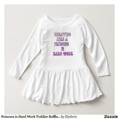 Shop for customizable Pink clothing on Zazzle. From tank tops to t-shirts to hoodies, we have amazing clothes for men, women, & children. Toddler Dress, Toddler Outfits, Toddler Girls, Baby Outfits, Kids Girls, T Shirts, Tees, Dress Shirts, Ruffle Dress