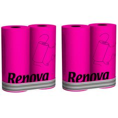 Renova Paper Towels Pink Set of 4, £12, now featured on Fab. Love these!
