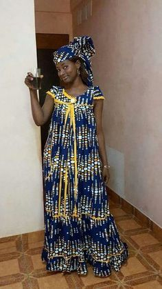 New latest african fashion look African Dresses For Women, African Print Dresses, African Fashion Dresses, African Attire, African Wear, African Women, African Prints, African Fashion Designers, African Print Fashion