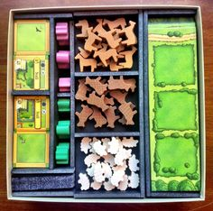Foam inserts for board game organization. Keep your games nice and tidy with a few of our favorite board game organization ideas.