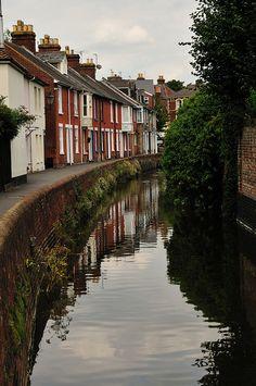 salisbury + river avon, england   cities in the united kingdom + travel destinations #wanderlust